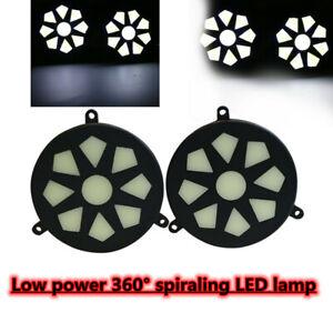 Waterproof COB Car LED Daytime Running Light Fog Light Day Driving Lamp White