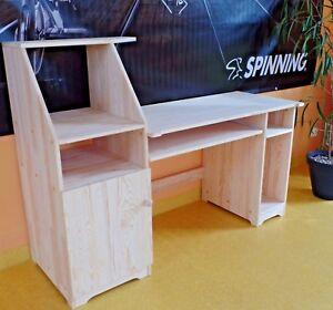 Büromöbel Computertisch Schreibtisch  Schülerschreibtisch PC-Tisch MASSIVHOLZ