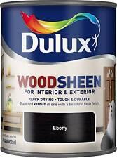 Dulux Woodsheen - Ebony - 750ml - Interior & Exterior - Woodstain