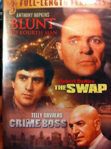 DVD - Action - Blunt The Fourth Man - The Swap - Crime Boss - Robert DeNiro