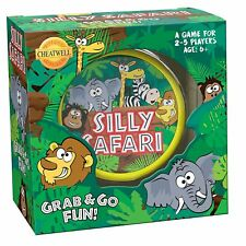 Cheatwell Games - Silly Safari - Round Tin Game