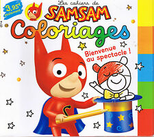SAMSAM Coloriage N° 17 * BD histoire Jeux Blagues 3 / 7 ans Bayard