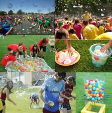 Hot Quick Fill Water Balloons 111 Pcs, Injection Water Balloons