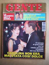 GENTE n°35 1992 Carolina e Principe di Monaco - I grassoni di Botero   [G592]