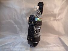 Leather Water Bottle Holder for 16.9 oz and Similar Water Bottles - 1BB