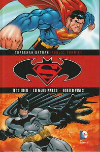 SUPERMAN / BATMAN: PUBLIC ENEMIES HC Blu Ray DVD Set Book & Movie DC
