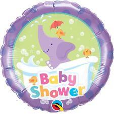 Ballon Aluminium Baby Shower Éléphant 45 cm 18 Qualatex