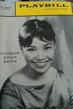 PLAYBILL FLOWER DRUM SONG ST. JAMES THEATRE MARCH 6, 1960