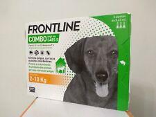 Frontline Combo tiques puces flea treatment 3 pipettes chiens de 2 a 10 kg