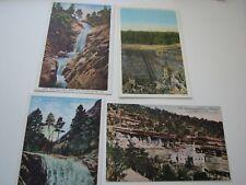 Colorado 1940s 5 Postcards Phanton Canon Manitou Mesa Verde Cheyene Canon NEW