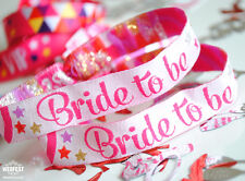Bride To Be Hen Party Wristbands / Bride to be bracelet / Bachelorette party