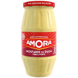 Amora Dijon Mustard Jar 440g French Import