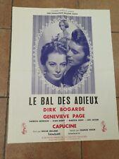 Affiche cinema Le Bal Des Adieux