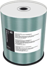 100 Professional Rohlinge CD-R full printable waterguard glossy 700MB 52x Spinde