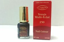 Clarins Vernis Multi-Eclat Nail Colour 230 .4 Oz LOT L NIB