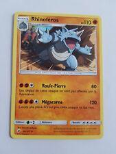 Rhinoféros SL3:Ombres Ardentes 66/147 Carte Pokemon Française peu commune