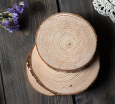 1Pc Vintage Round Wood Coaster Slice Cup Mat Tea Pad Holder Home Decor Fashioin
