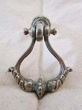 Antique Handle Drop Metal Brushed Stylized Regency