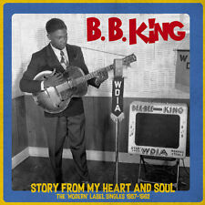 B. B. KING 'STORY FROM MY HEART & SOUL:MODERN SINGLES 1957-1962' LP ITALY IMPORT