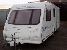 2005 ELDDIS 524 FireStorm, 4-berth caravan with MOTOR MOVER and Awning