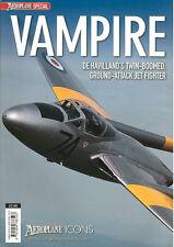 AEROPLANE ICON de HAVILLAND  VAMPIRE RAF RN SWISS SWEDEN SAAF RAAF AMI RNZAF NOR