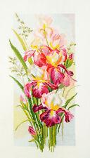 Counted Cross Stitch Kit MARYA ISKUSNITSA (MARY WEAVER) 04.004.08 - The Irises