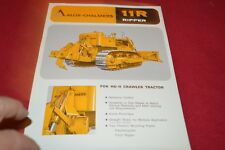Allis Chalmers HD-11 Crawler Tractor 11R Ripper Dealer's Brochure YABE14 ver33