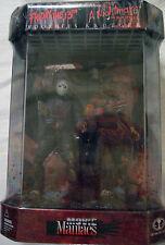 McFarlane Movie Maniacs Freddy Krueger Vs Jason Vorhees Fish Tank Action Figures