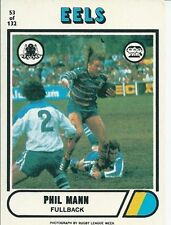 Parramatta Eels 1976 Season NRL & Rugby League Trading Cards
