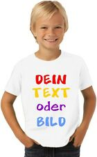 Kinder T-Shirt mit Wunschtext, Logo, Grafik, T-Shirt Druck nach Wunsch GJF02