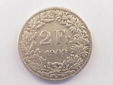 L1477     SCHWEIZ 2,- Franken 1909
