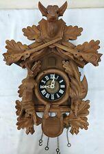 Vintage Regula Movement Hunter Theme Cuckoo Clock