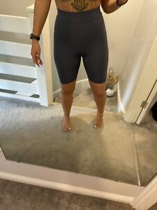 Prettylittlething Blue Cycling Shorts Size 10 Stretchy