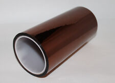 200mm X 33m 100ft Kapton Tape High Temperature Heat Resistant Polyimide; US Ship