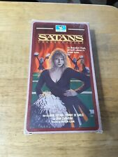 Satan's Cheerleaders VHS The Devil's got a big game tonight. 1988 movie