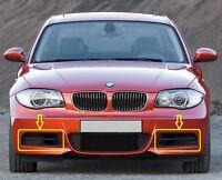 Genuine BMW 1 Series (E82/E88) M Sport FRONT Bumper Grille Set LEFT+RIGHT