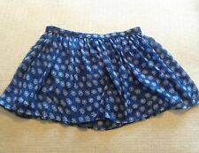 (F04) Abercrobie And Fitch NEw NWT Skirt Medium $48 Blue