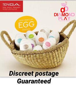 New Tenga Eggs Male Masturbator Original Sealed 6 Pack Singles Couples Sex Toys