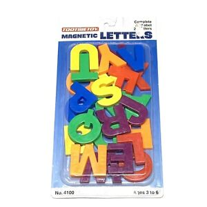 Vintage TootsieToy Magnetic Letters Complete Alphabet New Sealed 1991