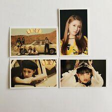 Set Of 4 (G)I-DLE Photo Cards #A01 Miyeon Minnie Soojin Soyeon Yuqi Shuhua