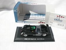 DOME S101 SPORT CAR VOITURE TEST NOIRE MAT 1/2400 EBBRO 1/43