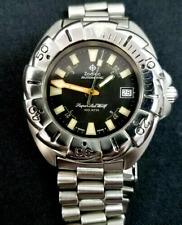 Vintage 90's Zodiac Super Seawolf Deep Diving Watch & Bracelet, 1000 (100 ATM)