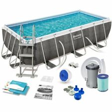 Piscina Fuori Terra Bestway Power Steel  404 x 201 x 100 cm - (56721)