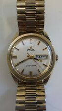 Vintage 1969 Omega Seamaster  750 Movement / Day / Date / Rare Sparkle Dial