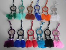 Wholesale set of 12 Dreamcatchers ,hand made in Mexico, Gift stores, Feathers,