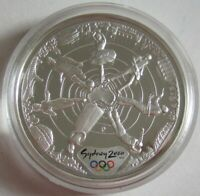 Australien 5 Dollars 2000 Olympia Sydney Athleten 1 Oz Silber