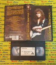 VHS YNGWIE MALMSTEEN The collection 1992 POLYGRAM 084 996-3 no cd mc dvd lp(VM4)