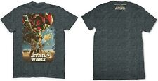 Disney Store The Force Awakens Fin Rey BB8 Limited Release T Shirt size XXL NWT