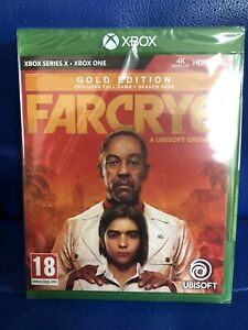 BRAND NEW FAR CRY 6 XBOX ONE GAME GOLD EDITION IN HAND STILL FACTORY SEALED