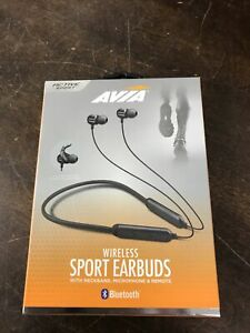 Avia Active Sport Bluetooth Wireless Sport Earbuds - New in Box -- CV488